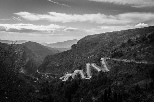 Col de Braus final climb.