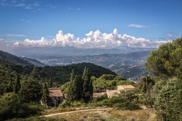 View towards Nice from Col de Eze